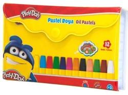 Play-Doh - Playdoh Pastel Boya Çantalı 12'li