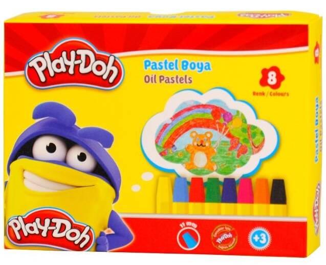 Playdoh Pastel Boya 18 Renk