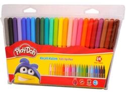 Play-Doh - Playdoh Keçeli Boya Kalemi 24'lü