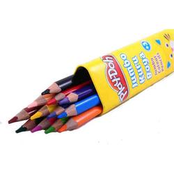 Play-Doh - Playdoh Üçgen Jumbo 12 Renk Kuru Boya