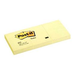 Post-it - Post-it Yapışkanlı Not Kağıdı 38x51 mm Sarı