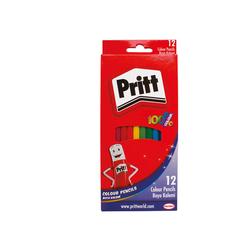 Pritt - Pritt Kuru Boya Karton Kutu Uzun Boy 12'li