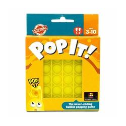 Push Pop Bubble Pop It Duyusal Oyuncak Özel Pop Stres Kare Sarı - Thumbnail