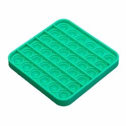 Push Pop Bubble - Push Pop Bubble Pop It Duyusal Oyuncak Özel Pop Stres Kare Yeşil