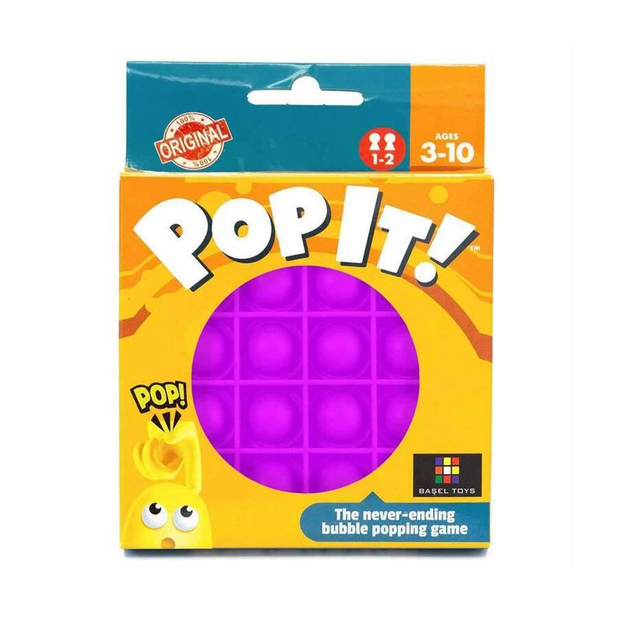 Push Pop Bubble Pop It Duyusal Oyuncak Özel Pop Stres Yuvarlak Mor