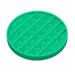 Push Pop Bubble - Push Pop Bubble Pop It Duyusal Oyuncak Özel Pop Stres Yuvarlak Yeşil