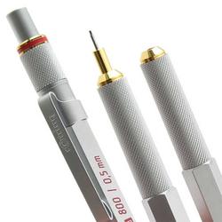 Rotring - Rotring 800 Uçlu Kalem 0.5 mm Krom