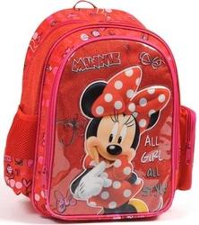 Sms Çanta - Sms Çanta Okul Çantası Minnie Mouse 73145