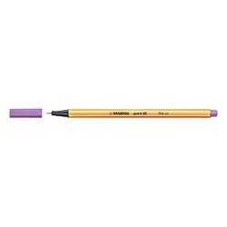 Stabilo - Stabilo Point 88 Keçeli Kalem 0.4 mm Açık Lila