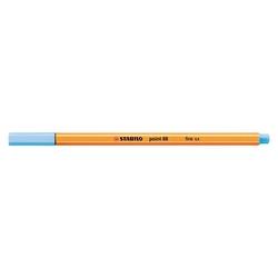 Stabilo - Stabilo Point 88 Keçeli Kalem 0.4 mm Floresan Buz Mavisi
