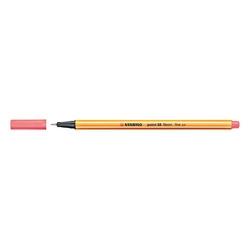 Stabilo - Stabilo Point 88 Keçeli Kalem 0.4 mm Floresan Kırmızı