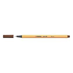 Stabilo - Stabilo Point 88 Keçeli Kalem 0.4 mm Kahverengi