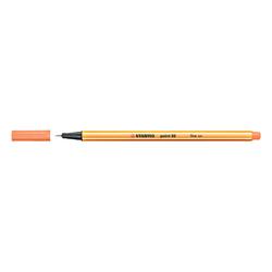 Stabilo - Stabilo Point 88 Keçeli Kalem 0.4 mm Kayısı