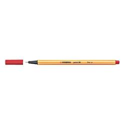 Stabilo - Stabilo Point 88 Keçeli Kalem 0.4 mm Kırmızı