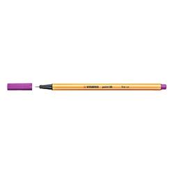 Stabilo - Stabilo Point 88 Keçeli Kalem 0.4 mm Lila