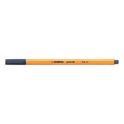 Stabilo - Stabilo Point 88 Keçeli Kalem 0.4 mm Mavi Siyah