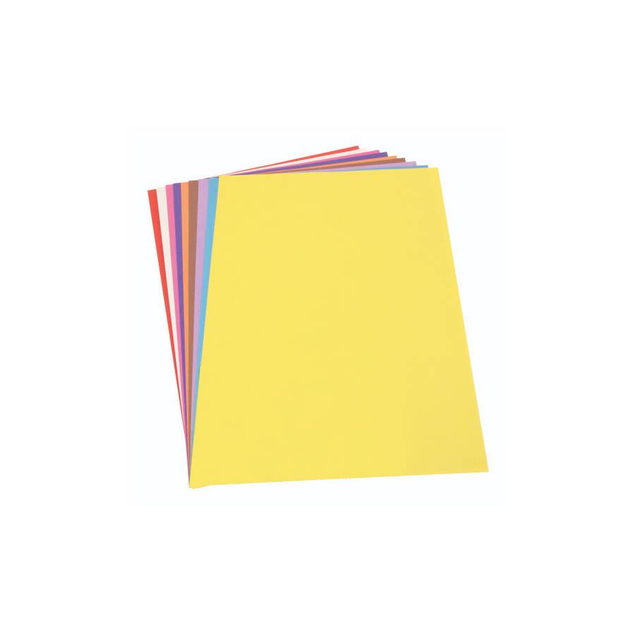 Südor Fon Kartonu 50x70 cm Poşetli 10 Renk