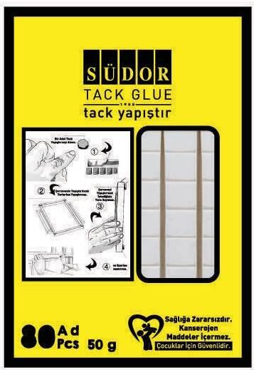 Südor TC01 Tack-it Yapıştırıcı 50 gr 80 Adet