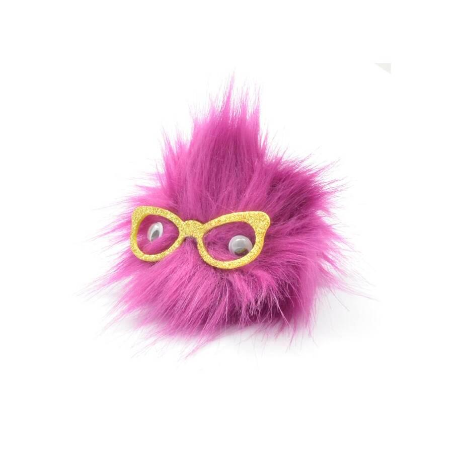 Taros Anahtarlık Peluş Gözlüklü Baykuş