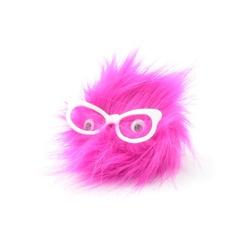 Taros Anahtarlık Peluş Gözlüklü Baykuş - Thumbnail