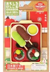 Taros - Taros Iwako Puzzle Eraser Anmitusu Shop Set