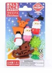 Taros - Taros Iwako Puzzle Eraser Christmas Set