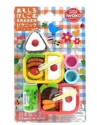 Taros - Taros Iwako Puzzle Eraser Cut Fruits Picnic Set