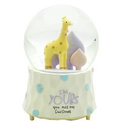 Taros Kar Küresi Büyük Boy Zürafa Motorlu - Thumbnail