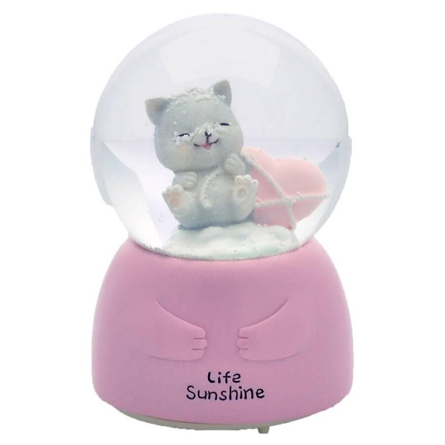 Taros Kar Küresi Orta Boy Işıklı Cats