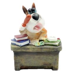 Taros Masa Seti Kumbara Köpek Figürlü - Thumbnail