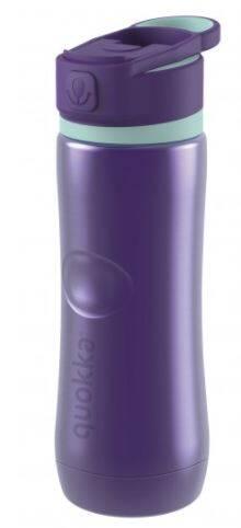 Taros Quokka Stainless Steel Bottle Spring Aqua Violet