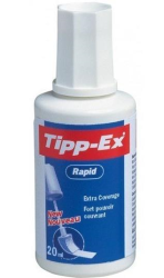 Tipp-Ex - Tippex Sıvı Silici Rapid Sünger Uçlu 20 ml