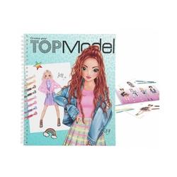 Top Model - Top Model Create Your Boyama Kitabı 1065