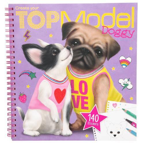 Top Model Köpekli Boyama Kitabı 87365