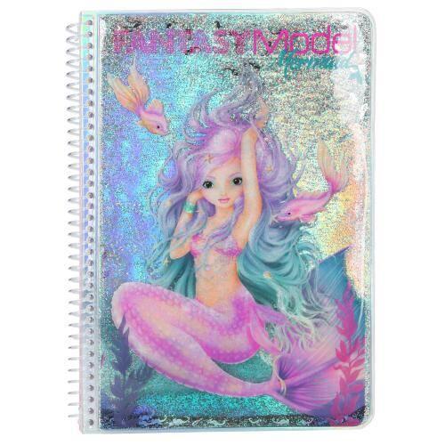 Top Model Mermaid Fantasy Boyama Kitabı 10472