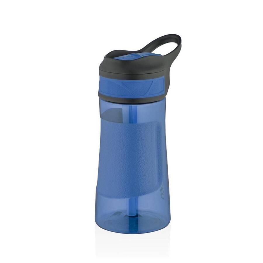 Uzspace Tritan Pipetli Su Matarası Playoff 460 ml Mavi