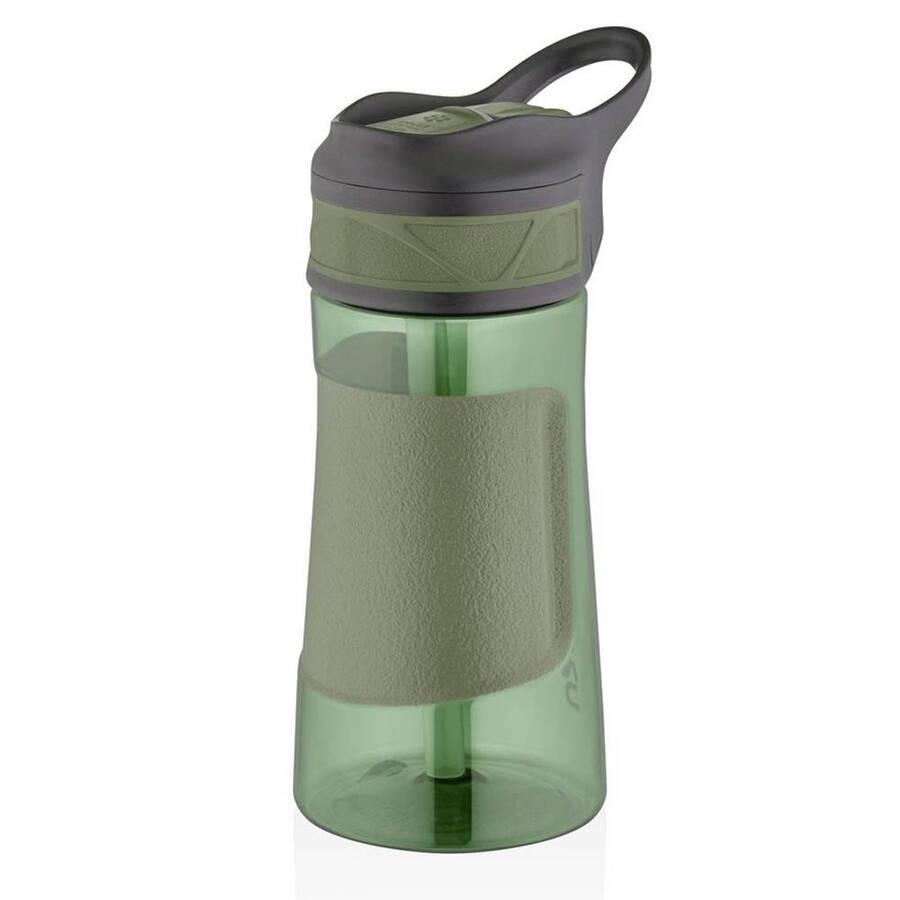 Uzspace Tritan Pipetli Su Matarası Playoff 460 ml Yeşil
