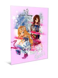 Winx - Winx Fairy Tel Dikişli Karton Kapaklı Defter A6