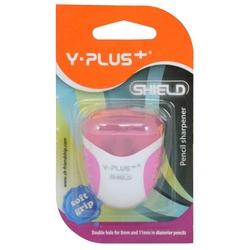 Y-Plus - Y-Plus Kalemtraş Shield Hazneli Çift Bıçaklı